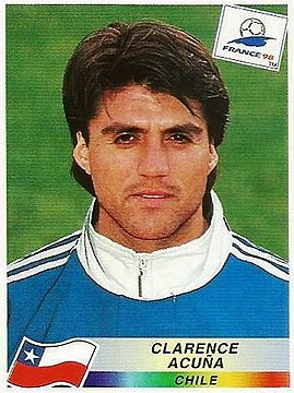 Clarence Acuña (born 8 February 1975) — Chile NFT Midfielder (1995–2004).jpg