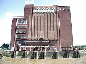 Manor Property Group - The former Rank Hovis Mill in Hull.