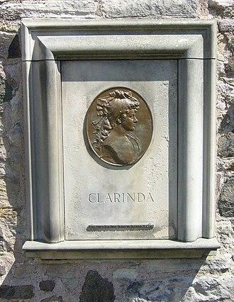 Agnes Maclehose - Agnes Maclehose's memorial stone in Canongate Kirkyard by H S Gamley