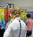 Claudia Nystad bei der Olympia-Einkleidung Erding 2014 (Martin Rulsch) 01.jpg