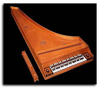 Archicembalo - Clavemusicum omnitonum (Vito Trasuntino, Venice 1606) - Bologna, International museum and library of music