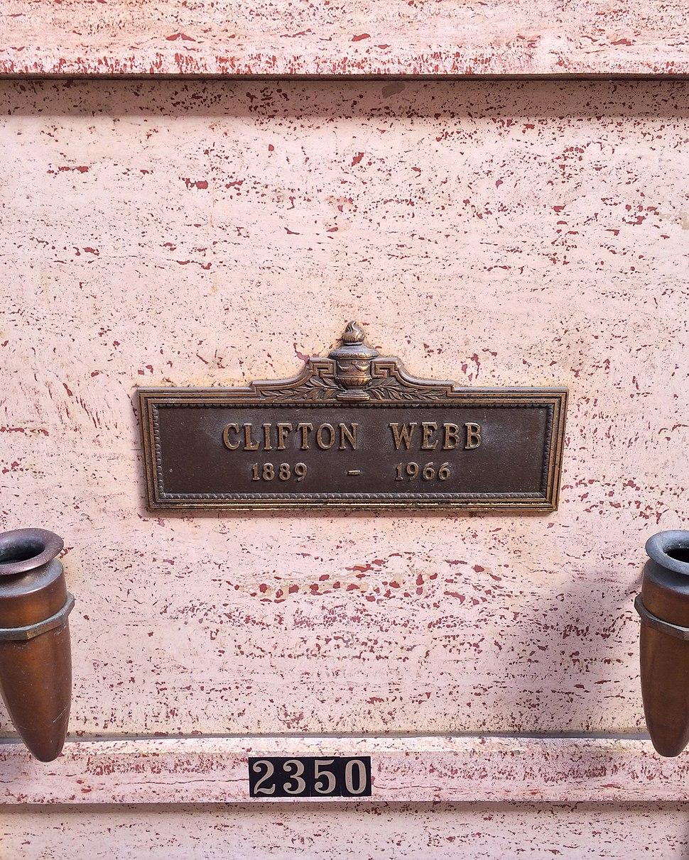 Clifton Webb Grave