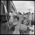 Closing of the Jerome Relocation Center, Denson, Arkansas. In the movement of Jerome residents to o . . . - NARA - 539652.tif