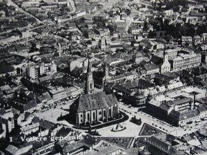 Cluj la 1930, Vedere Aeriana