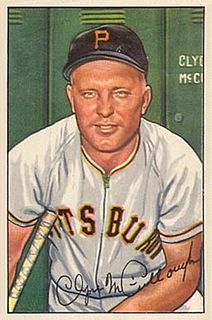 Clyde McCullough American baseball player and coach