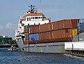 Coast Guard renders assistance in the Ria Haina allision -- Miami Beach.jpg