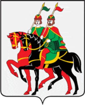 Borisoglebsky District, Yaroslavl Oblast - Image: Coat of Arms of Borisoglebsky rayon (Yaroslavl oblast)