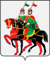 Coat of Arms of Borisoglebsky rayon (Yaroslavl oblast).png