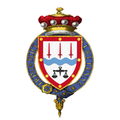 Coat of Arms of Gordon Richardson, Baron Richardson of Duntisbourne, KG, MBE, TD, PC, DL.png