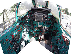 Mikoyan-Gurevich MiG-23 - MiG-23 cockpit in high resolution