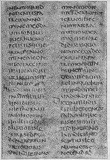 <i>Vetus Latina</i> Bible translations into Latin before St Jeromes Vulgate Bible