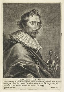 Deodat del Monte Dutch painter, architect, astronomer (1582–1644)