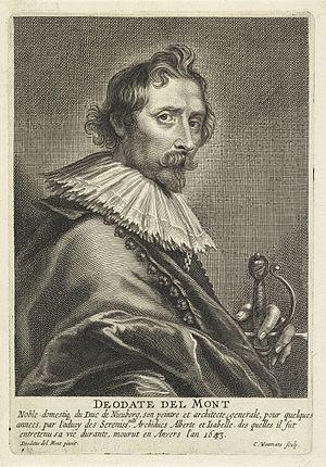 Deodat del Monte - Image: Coenraet Waumans Portrait of Deodat van der Mont