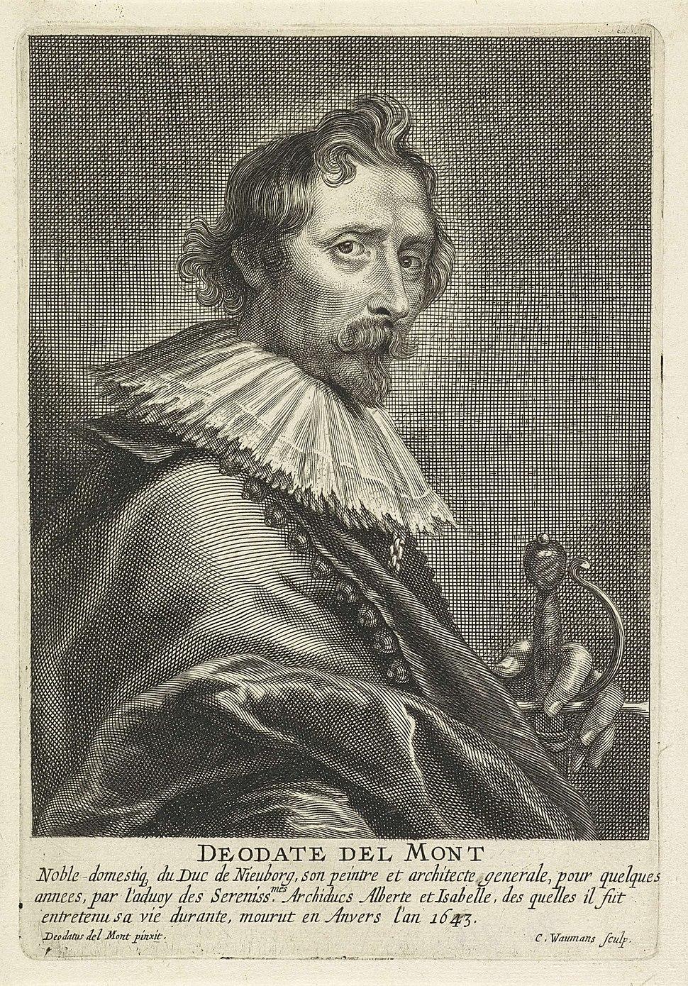 Coenraet Waumans - Portrait of Deodat van der Mont
