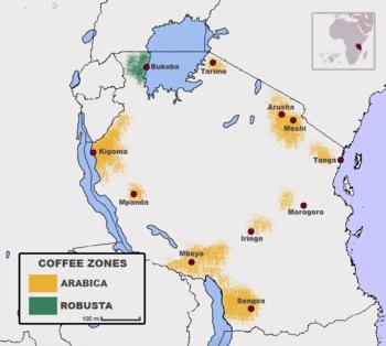 Coffee production in Tanzania - Wikipedia