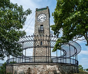Albert H. Humes - Cogswell Tower, Jenks Park, Central Falls, RI. 1904.