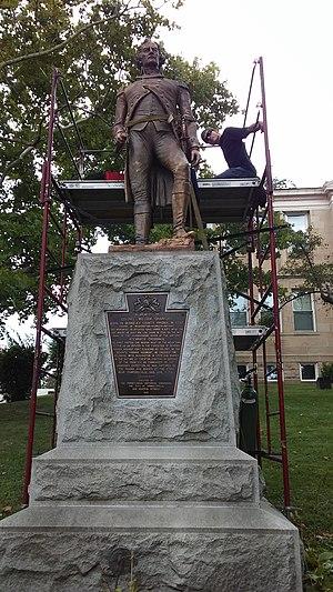 Jno. Williams, Inc. - Image: Col.William Crawford Statue