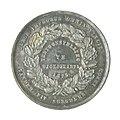 Collectie NMvWereldculturen, TM-5305-2, Gedenkpenning, 'Zilveren gedenkpenning van de landbouwtentoonstelling te Yogyakarta in 1875', 1875.jpg