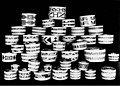 Collection of Tlingit spruce root baskets with lids (AL+CA 891).jpg