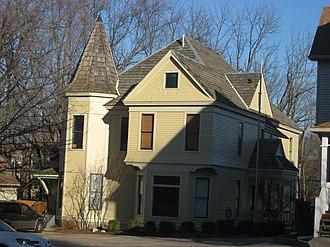 William Lowe Bryan - Bryan's house in Bloomington