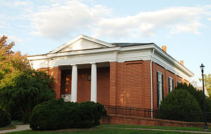 Robert Lewis Dabney - College Church at Hampden–Sydney College, c. 1860, designed by Dabney.