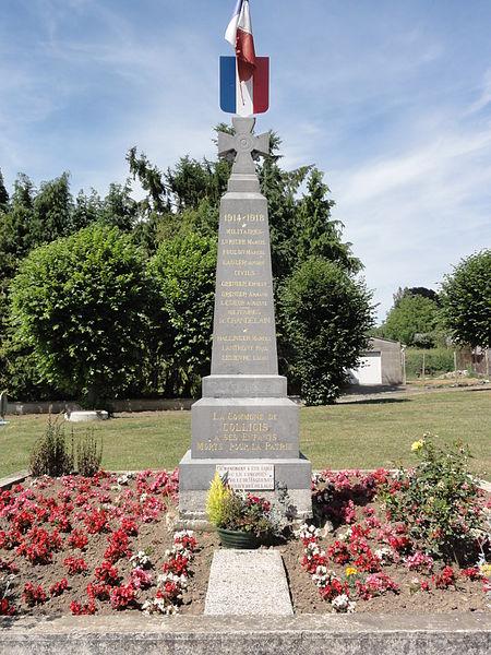 Colligis-Crandelain (Aisne) monument aux morts