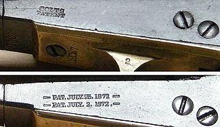 Colt Model 1871-72 Open Top Revolver
