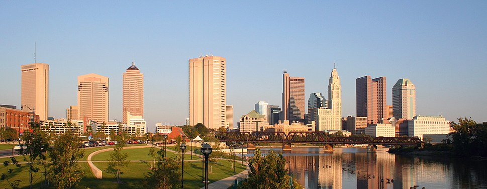 Skyline of Columbus.