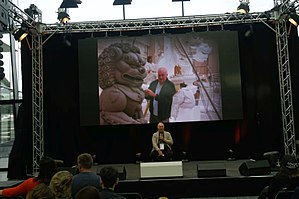 Brian Muir (sculptor) - BrianMuir at the Comic Con Germany in Stuttgart 2017