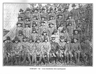 Company H, 141st Machine Gun Battalion, Arkansas National Guard, 1921–1923