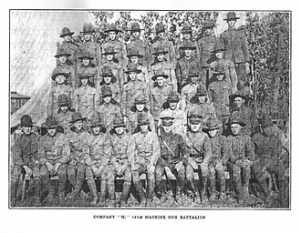 206th Field Artillery Regiment - Company H, 141st Machine Gun Battalion, Arkansas National Guard, 1921–1923
