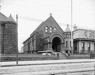 Confederate Memorial Hall - Confederate Memorial Hall (circa 1900).