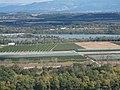 Confluent de l'Isere et du Canal de dérivation du Rhône..jpg