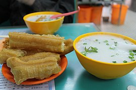 Congee with Youtiao