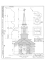 Congregational Church, Grafton, Windham County, VT HABS VT,13-GRAFT,1- (sheet 2 of 6).png