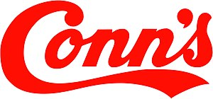 English: The new Conn's logo