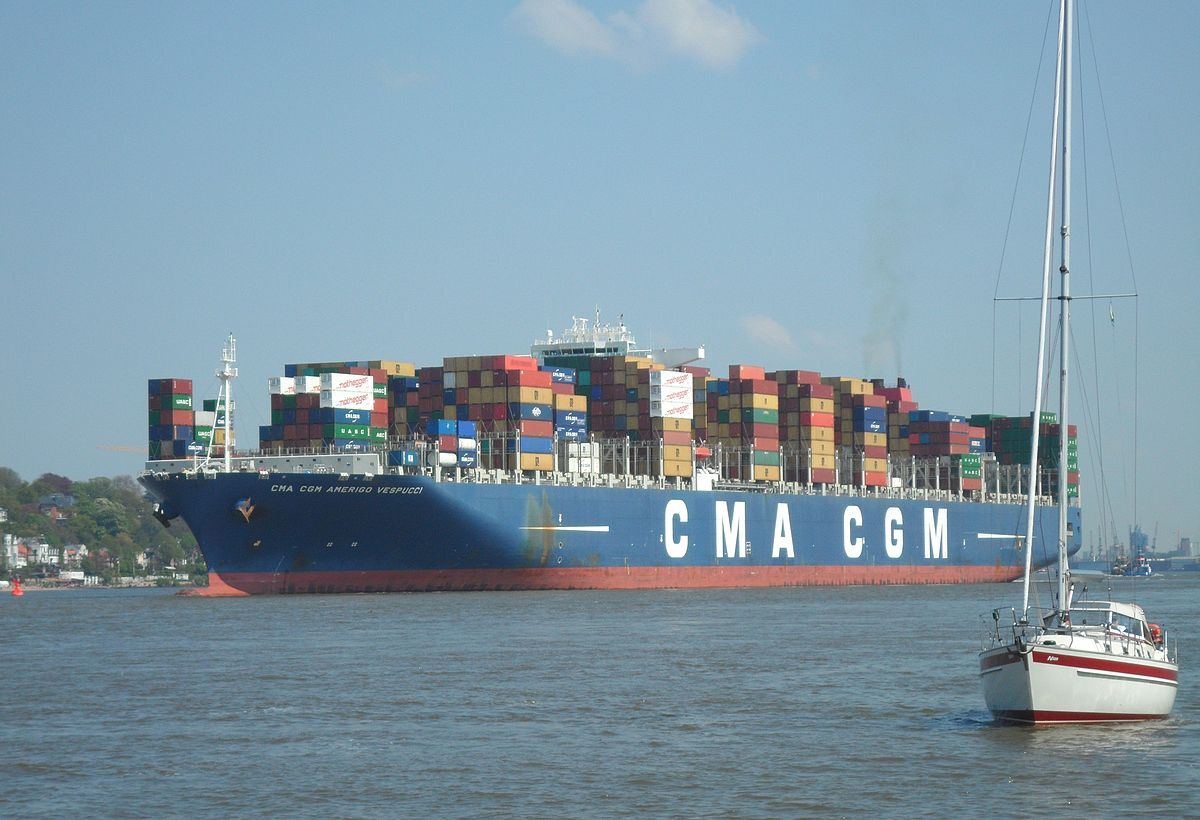 CMA CGM Amerigo Vespucci - Wikipedia