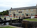 Converted canal side house now a restaurant - geograph.org.uk - 55310.jpg