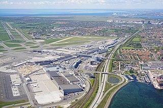 Copenhagen Airport international airport serving Copenhagen, Denmark