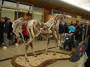 Heather Jansch - Image: Cork and Driftwood Horse geograph.org.uk 65657
