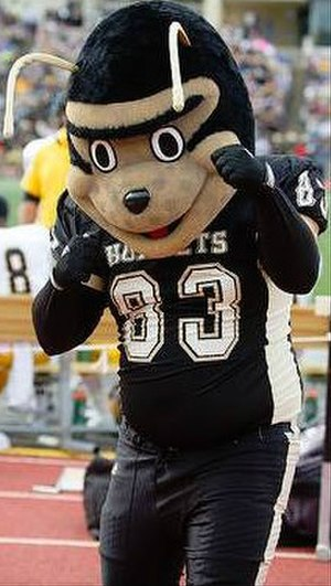 Emporia State Hornets - Image: Corky the Hornet