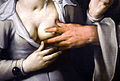 Cornelis van Haarlem A monk and a nun Detail 06112012 1.jpg