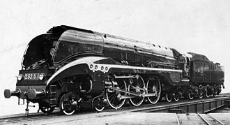Corpet-Louvet - SNCF 232.U.1 in a manufacturers' photograph (Works no. 1908 of 1949)