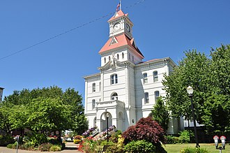 Benton County, Oregon - Image: Corvallis, Oregon Benton County Courthouse 02