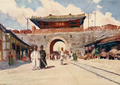 Coulson, Constance J. D. (1910) Korea - Gates of Seoul.png