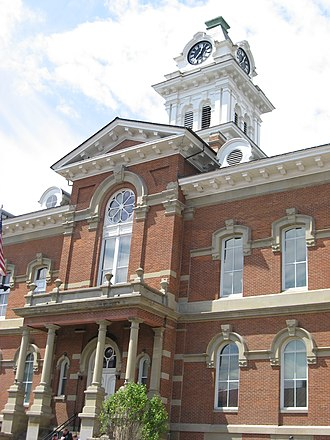 Athens County, Ohio - Image: County Courthouse Athens OH USA