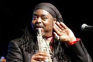 Courtney Pine - Image: Courtney Pine by Augustas Didzgalvis