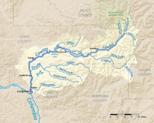 Cowlitz River - Wikipedia