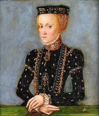 Anna Jagiellon - Anna Jagiellon by Lucas Cranach the Younger, 1553