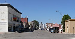Crawford, Nebraska 2nd St from Linn 1.JPG